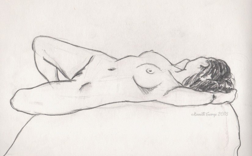 Figure drawing studies (shaking off the rust)